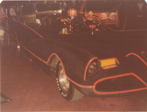 Batmobile at World of Wheels in 1977