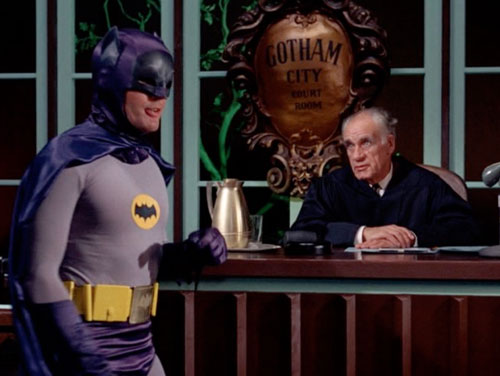 Batman and the Law