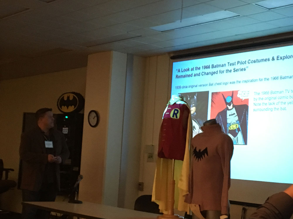 Batman screen test costumes