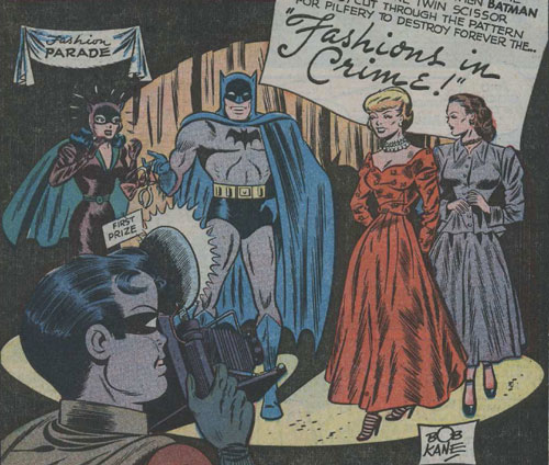 Fashions in Crime, Batman 47, 1948