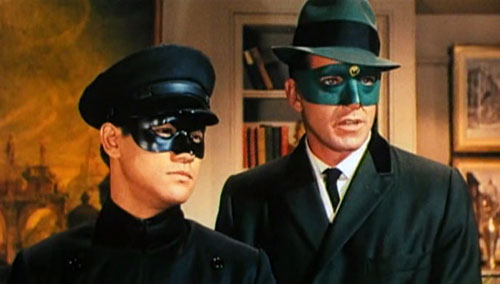 Green Hornet and Kato