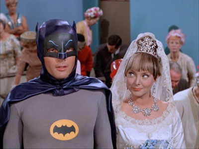 Marsha and Batman