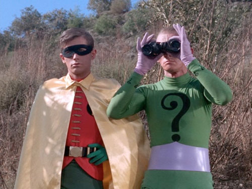 """Robin"" and Riddler"