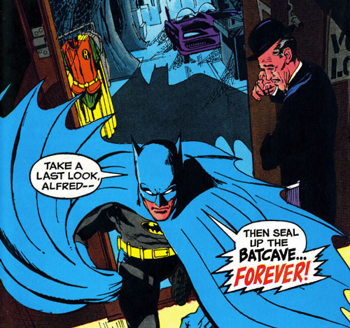 Seal the Batcave - Batman 217