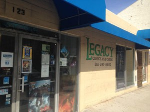 Legacy Comics and Cards