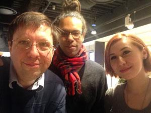 Tim, Mulele, and Irene