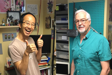 Fred Chao and Ron Randall
