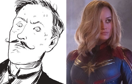 Strange Disturbances & Capt Marvel