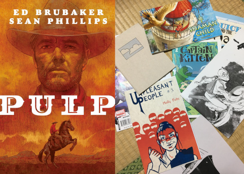 Pulp and comics publishing