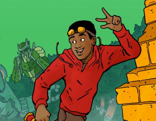 Rex Radley, Boy Adventurer