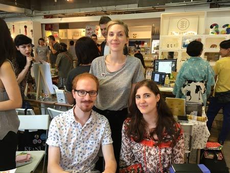 Loic Locatelli, Tamia Baudouin, Rosalie Stroesser