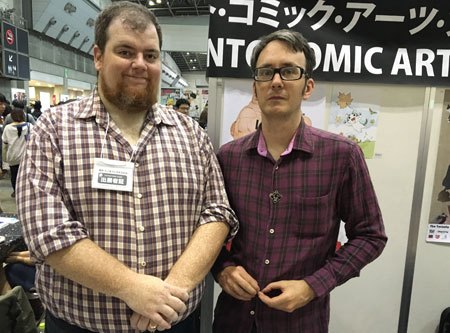 Chris Butcher and John Burgamo, TCAF