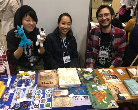 Johny-san, Coh Miyazaki, and Gabriele Pala