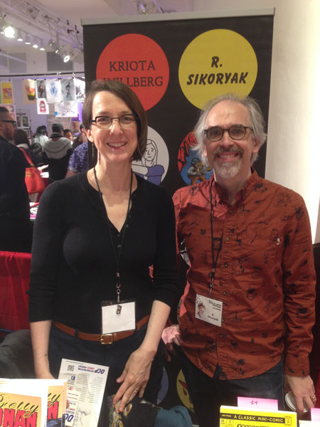 Kriota Willberg and R. Sikoryak