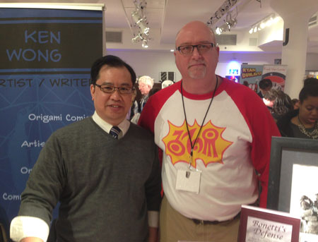 Ken Wong and Gene Kannenberg