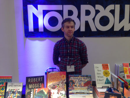 Tucker Stone of Nobrow Press