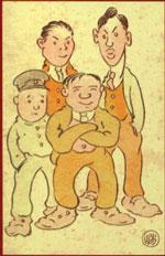 The Four Immigrants Manga