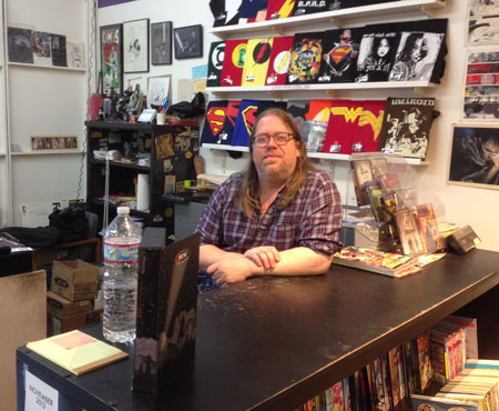 Brian Hibbs, Comix Experience, San Francisco
